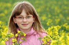 Spring portrait girl Stock Images