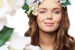 Spring portrait Royalty Free Stock Photography