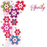 Spring_postcard Stock Image
