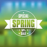 Spring  poster Stock Photography