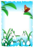 Spring poster vector Royalty Free Stock Photos