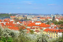 Spring in Prague Royalty Free Stock Photography