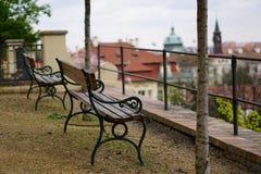 Spring Prague. View of the Prague spring royalty free stock photography