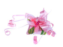 Spring Present Royalty Free Stock Image