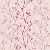Spring prime plants. Seamless pattern Royalty Free Stock Photography