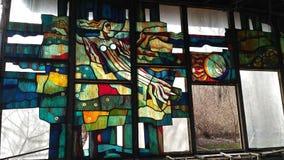 Spring in Pripyat: Cafe `Pripyat` stock image