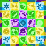 Spring quilt Royalty Free Stock Photo