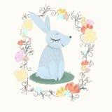 Spring rabbit stock illustration