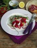 Spring Radishes Salad Stock Photography