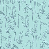 Spring Rampage seamless  pattern. Stock Photography