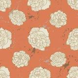 Spring Rampage seamless  pattern. Rock'n'roll version. Royalty Free Stock Photos