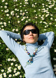 Spring relaxation Stock Photography
