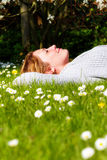 Spring relaxing Royalty Free Stock Photos