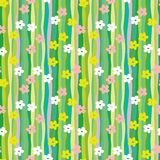 Spring retro pattern Royalty Free Stock Photography