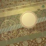 Spring Retro Scrapbook Design Pattern Royalty Free Stock Photo
