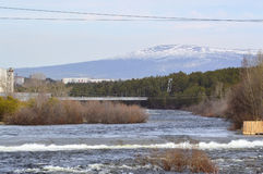 Spring.River Niva.Russia. Stock Photography