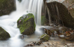 Spring River Waterfall Royalty Free Stock Photography