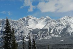 spring rocky mountains Royalty Free Stock Photography