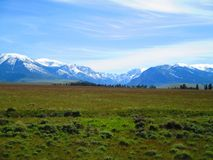 High Mountain Plains stock images
