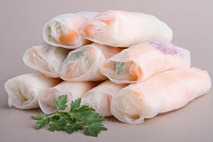 Spring roll Stock Photos