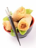 Spring roll Royalty Free Stock Images