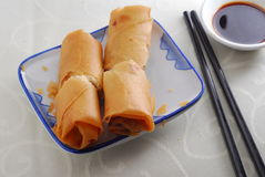 Spring roll dim sum Royalty Free Stock Image
