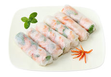 Spring Rolls Royalty Free Stock Photos