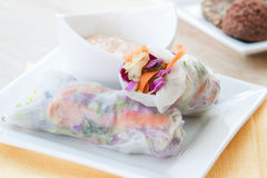 Spring Rolls Royalty Free Stock Images