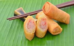 Spring Rolls. Stock Images