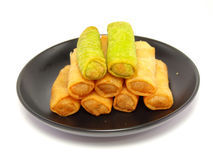Spring rolls food Stock Images