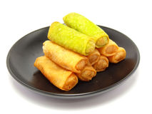 Spring rolls food Stock Photography