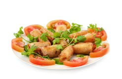Spring rolls Stock Image