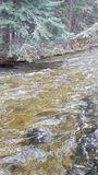Spring runoff Royalty Free Stock Images