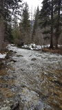 Spring runoff Royalty Free Stock Photography