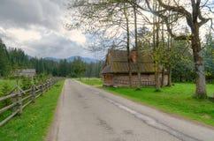 Spring rural landscape. stock image