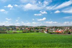 Spring rural scenery Stock Photo