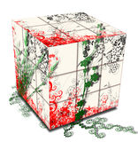 Spring's cube Stock Photography