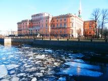 Spring in Saint Petersburg Stock Image