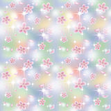 Spring sakura seamless background, vector Royalty Free Stock Photography