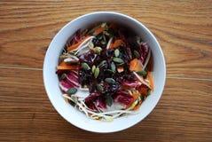 Spring salad bowl Royalty Free Stock Image