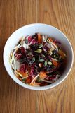 Spring salad bowl Stock Image