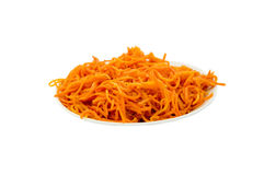 Spring salad of carrots Stock Photography