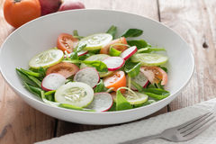 Spring salad. Stock Photo