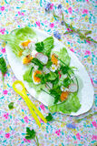 Spring salad Royalty Free Stock Photo