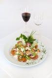 Spring Salade op stock afbeelding