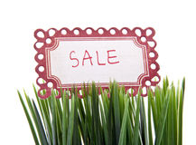 Spring sale Stock Photo