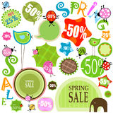 Spring Sale Royalty Free Stock Image