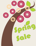 Spring sale Royalty Free Stock Photo