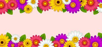 Background with beautiful flowers. Spring sale background with beautiful flowers,women`s day background with beautiful ,holiday background with beautiful and so vector illustration