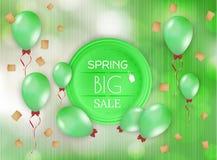 Spring sale  background Stock Image